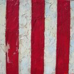 Ben Franklin's Liberty Tree Flag - 13 Colonies Original Painting SOLD